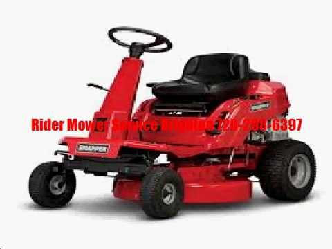 Mobile Rider Mower Repair Brighton – 720-298-6397