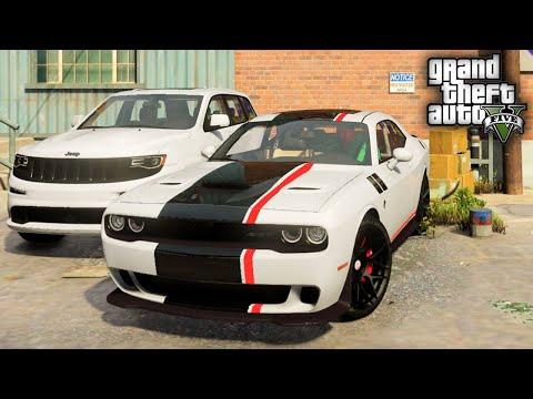 GTA 5 Real Hood Life #49 2 New SRT Garage Additions! (GTA 5 Hood Life Mods)