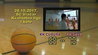 kk čubura kk sava 69 70 (kadeti, 28 10 2017 ) košarkaški klub sava