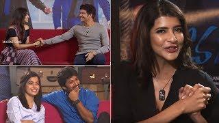 Video Manchu Lakshmi Hilarious Interview With Devadas Team | Nani | Nagarjuna | Rashmika | Aakanksha MP3, 3GP, MP4, WEBM, AVI, FLV Desember 2018