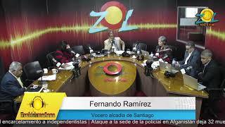 Fernando Ramirez explica lo de las vallas con empresa tienen deuda con la alcaldía de Santiago
