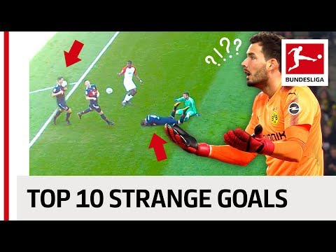 Strange Goals 2017/18 - Face Smash, Free-Kick Naughtiness and a Thirsty Goalkeeper