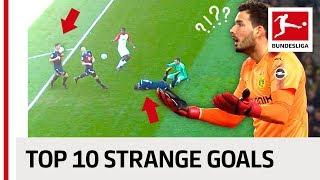 Video Strange Goals 2017/18 - Face Smash, Free-Kick Naughtiness and a Thirsty Goalkeeper MP3, 3GP, MP4, WEBM, AVI, FLV Juli 2018