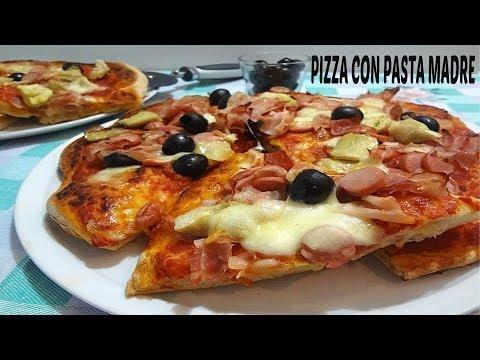 video ricetta: come fare un'ottima pizza con la pasta madre
