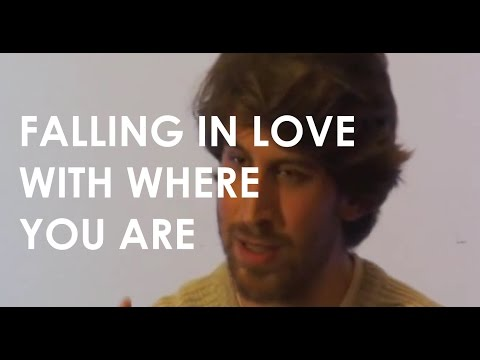 Jeff Foster Video: Saying Yes to Where You Are