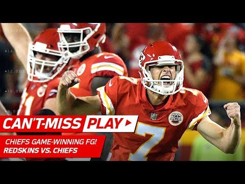 Video: Alex Smith's Big Throw Sets Up Game-Winning FG! | Can't-Miss Play | NFL Wk 4 Highlights