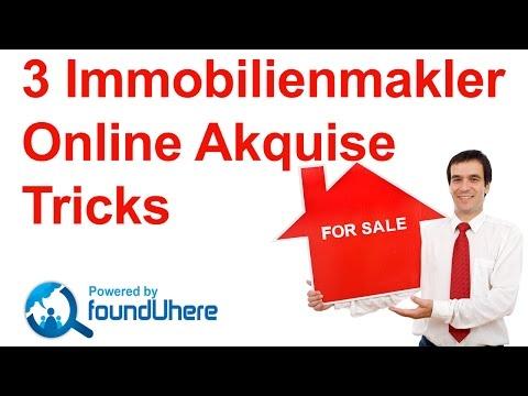 3 Online Immobilienmakler Akquise Tipps – Immobilienmakler Marketing