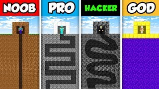 NOOB vs PRO vs HACKER vs GOD : PRISON MAZE CHALLENGE in Minecraft! (Animation)