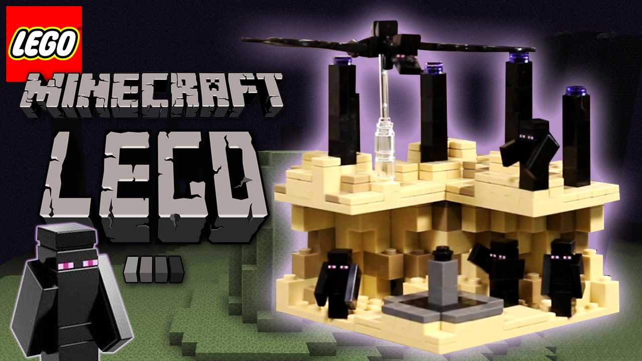 LEGO Minecraft The End Micro World Speed Build