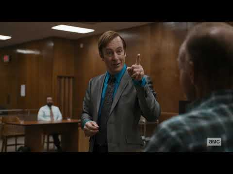 Better Call Saul - False Defendant at the Court