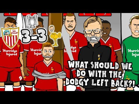 "😲3--3! SEVILLA Vs LIVERPOOL😲""What Should We Do With The Dodgy Left Back?"""