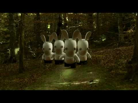 Twilight revisit par les lapins cr tins - Lapin cretin vampire ...