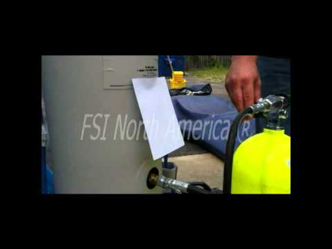 Over-pressure valve test
