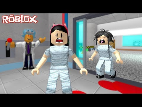 Roblox - FUGINDO DO MÉDICO LOUCO (Escape The Evil Hospital Obby)   Luluca Games