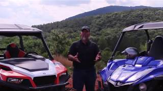 1. 2017 Yamaha Wolverine R Spec vs Polaris General Deluxe