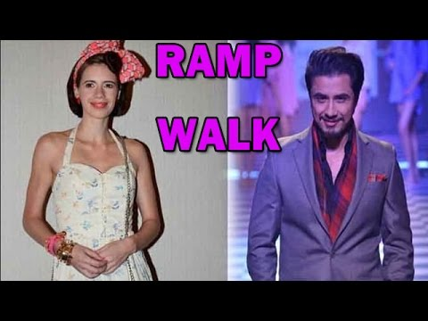 Ali Zafar, Kalki Koechlin Walk The Ramp