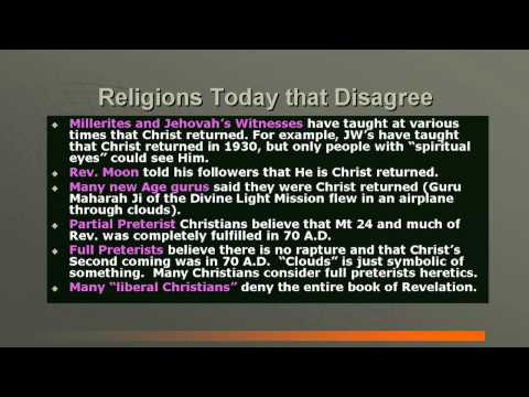 EARLY CHRISTIAN CHURCH HISTORY #10: FUTURE & ULTIMATE THINGS CONTRASTED WITH THE CULTS, ETC.