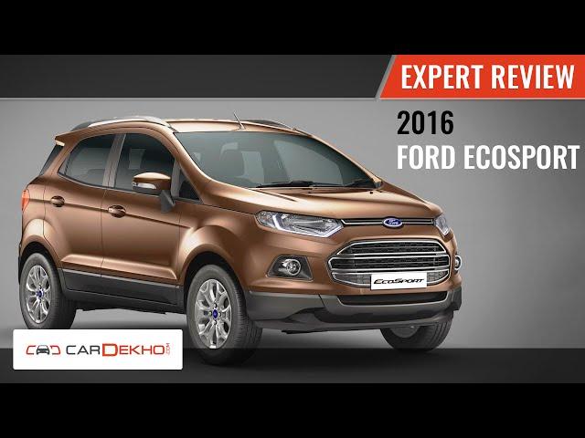 2015 EcoSport Expert Review