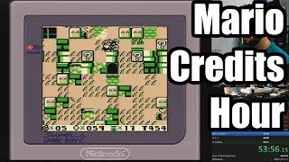 [58:36] Mario Credits Hour: Speedrunning 8 Mario Games in Under an Hour