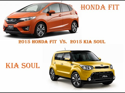 2015 Honda Fit vs. 2015 Kia Soul TRUTH!!!! (Part 1)