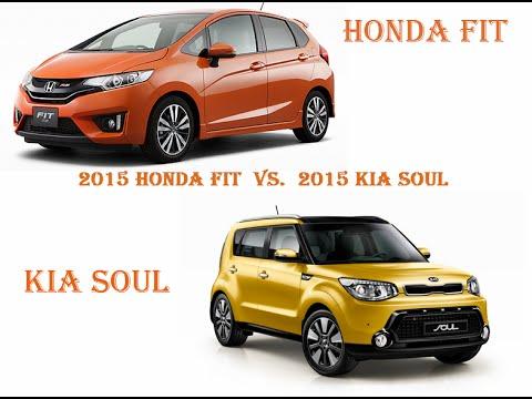 2015 Honda Fit vs. 2015 Kia Soul TRUTH!!!! (Part 1)