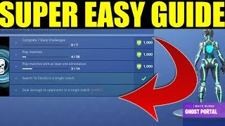 Search 10 Chests in a single match EASY! (Ghost Portal Challenge Guide)