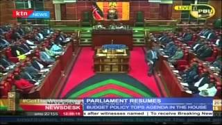 MPs Resume Sittings After Recess