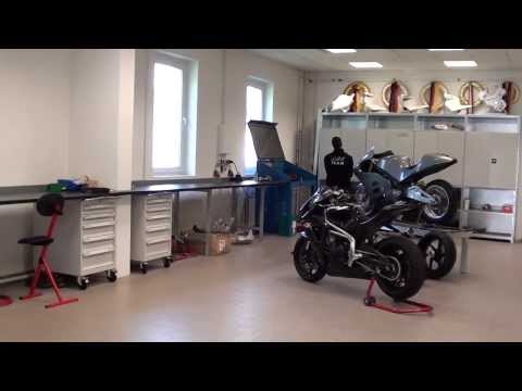 MotoGP MZ Factory Workshop