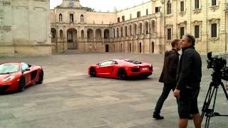 Lecce Italy  city images : Top Gear shooting in Lecce - Italy
