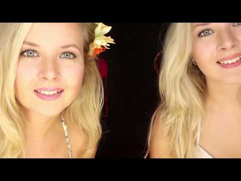 ASMR 👭Two girls in bungalow👙 Sweet care after the sunburn ⛱