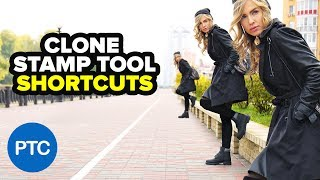 SUPERCHARGE The Clone Stamp Tool in Photoshop - Clone Source Panel Keyboard Shortcuts