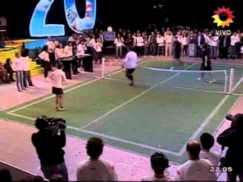Martín Palermo. Magia en el fútbol tenis