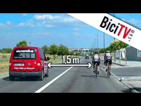 BiciTV.com: Como adelantar a un ciclista con seguridad
