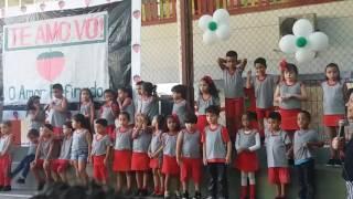 Estrela na apresentação do Dia das Avós!!!