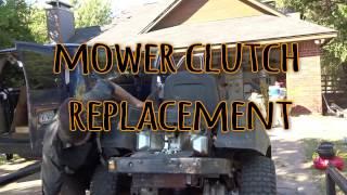 7. CUB CADET ZTR Clutch Replacement