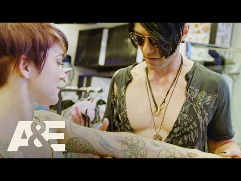 Criss Angel: Trick'd Up - Cockroach Tattoo with Criss | A&E