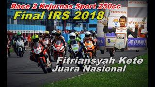 Video Race 2 Kejurnas Sport 250 Final IRS 2018, Kete Juara Nasional MP3, 3GP, MP4, WEBM, AVI, FLV Desember 2018