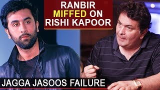Ranbir Kapoor is miffed with his dad Rishi Kapoor's fuming interview about Jagga Jasoos failure. Watch the story. Report By: Abhishek Halder. Edited By: Ajay Mishra.Subscribe now and watch for more of Bollywood Entertainment Videos at http://www.youtube.com/subscription_center?add_user=bollywoodnowRegular Facebook Updates https://www.facebook.com/bollywoodnow.  Twitter Updates https://twitter.com/bollywoodnow  Follow us on Pinterest: https://pinterest.com/bollywoodnow  Follow us on Google+ : https://plus.google.com/+bollywoodnow