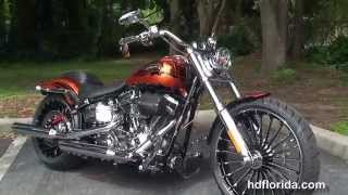 6. Used 2014 Harley Davidson CVO Breakout Motorcycles for sale