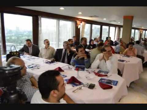 جمال الشخيبي:يدير جلسة تنازل تامر امين لثروت عطاالله فى انتخابات نقابة المحامين