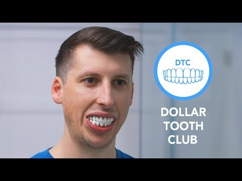 Dollar Tooth Club. A million dollar smile for just a fraction of the pride.