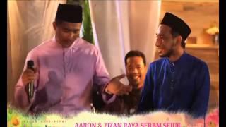 Video [Promo Raya 2014] Aaron & Zizan Raya Seram Sejuk (1 Syawal) MP3, 3GP, MP4, WEBM, AVI, FLV Juni 2018
