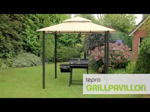 3109 Grillpavillon mit Doppeldach