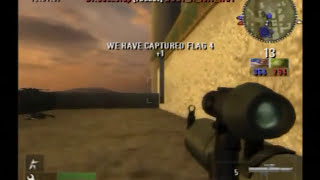 Battlefield 2 (PS2) Online Gameplay