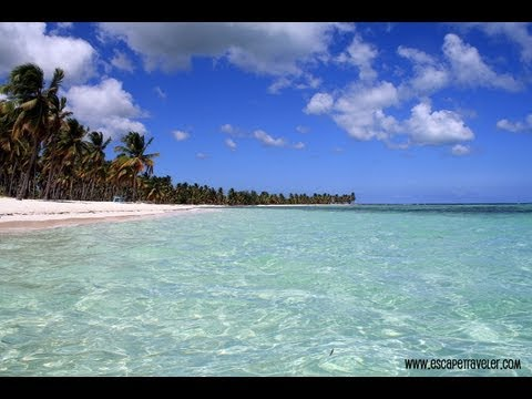 Saona - Join us on Facebook: http://www.facebook.com/escapetraveler (CLICK HERE)!!! This video was taken during our trip to Canto de La Playa, a secluded beach on Is...