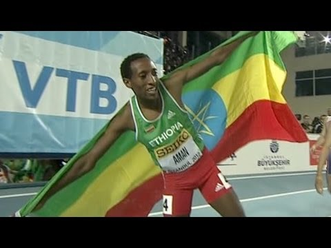 M 800 F01 (18yr old Mohammed Aman becomes 800m champ, World Indoors 2012)