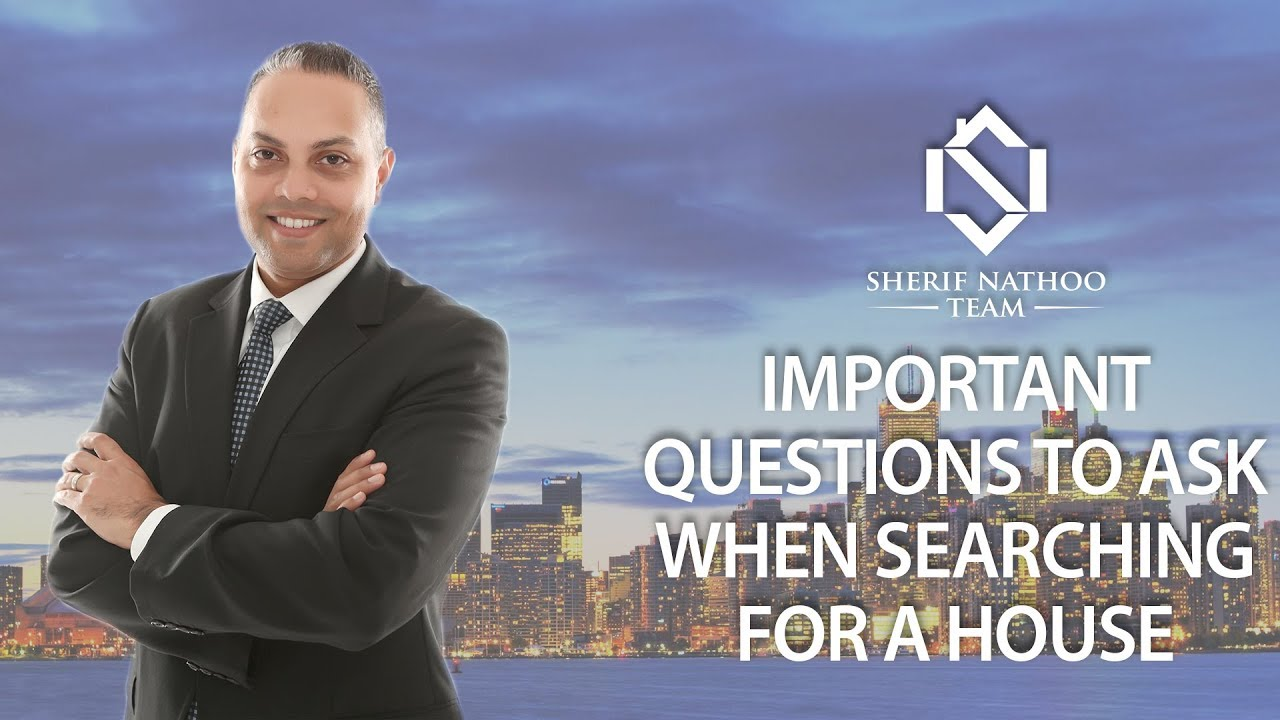 Important Questions to Ask When Searching for a House