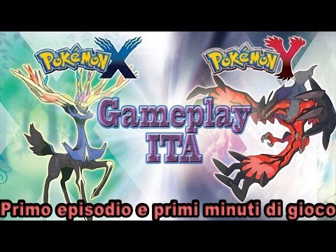Pokemon X e Y - Gameplay Walkthrough ITA - Parte 1 ( Primi Minuti Di gioco ) HD