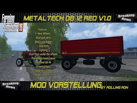 MetalTech DB 12 RED v1.0