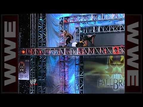 Shane Douglas & Torrie Wilson vs. Kidman & Madusa: Scaffold Match - Fall Brawl 2000